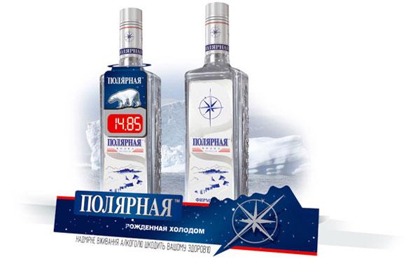 Шелфтокер водки Полярная