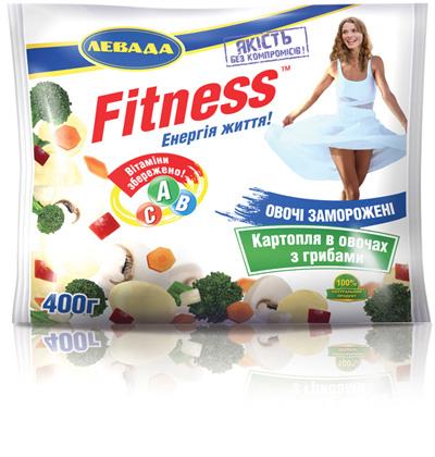 ТМ Fitness. Картофель с грибами