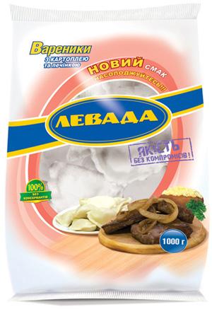 Левада. Упаковка для вареников