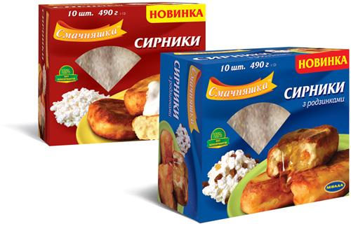 Левада. Упаковка для сырников